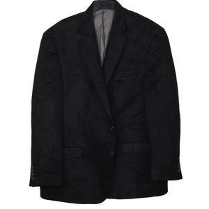 🔥🔥🔥Chaps Faux Suede Men's Coat Jacket Size 46